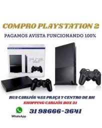 c.o.m.p.r.o PS2 slim funcionando