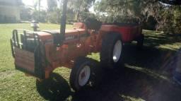Trator agrale 4200 + reboque 2 toneladas