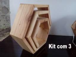 Nichos e artigos de madeira