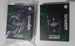Mouse Gamer Usb C/Leds Rgb 3200 Dpi 7 Botoes Cabo 1.5 Metros MU2909 - Hayom