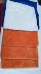 5 capas tecido pelúcia pelo baixo