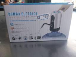 Bomba elétrica para galão de água