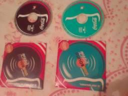 Coleção Mini CD's Coca Cola - Década de 90