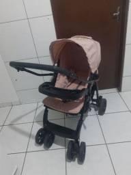 Título do anúncio: Carrinho de bebê Burigotto semi-novo
