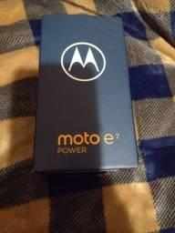 Título do anúncio: Celular Motorola E7 Power Novinho!