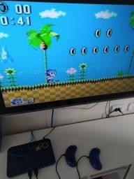 Master System com 132 jogos na memória