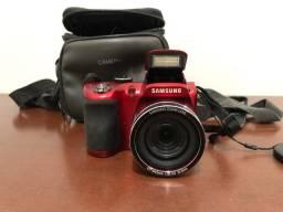 Título do anúncio: Câmera Semi profissional Wb 100 Samsung Red