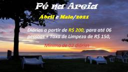 Casa de Praia em Itapoá - Pé na Areia - Com Wi-FI - Paraíso a Beira Mar
