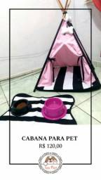 Promoção de lindas cabanas pet