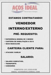 Título do anúncio: Vagas para vendedor internos