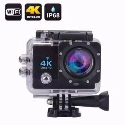 Título do anúncio: Camera Prova Dagua Ação Cam Sport Full Hd 1080p Wi-fi