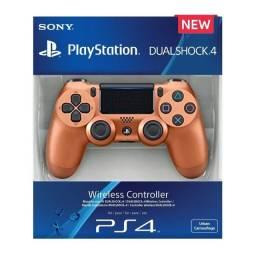 Controle joystick sem fio Sony PlayStation Cor de Bronze