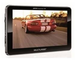 Gps Multilaser lcd 7 polegadas + touch tv + digital rádio FM + tts + e-book / GP038
