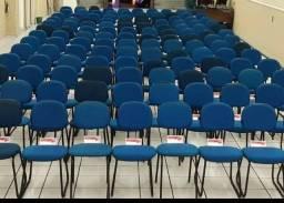 Cadeiras semi-novas azul