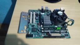 Título do anúncio: Kit Intel 775 Core2 Duo E7500 + 4Gb