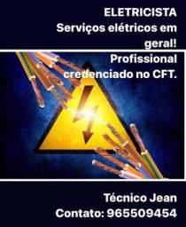 Título do anúncio: Eletricista Eletrotécnico registrado