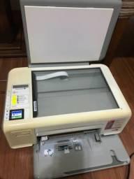 Impressora HP C4280 c/ cartuchos originais e novos