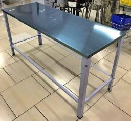 Título do anúncio: mesa inox nova