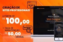 Título do anúncio: Criação de sites a partir de R$ 100,00