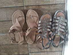 Título do anúncio: Duas sandálias 38 39
