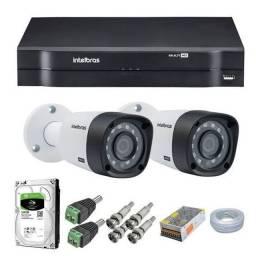 Sistema de cameras de monitoramento  completo