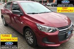 Título do anúncio: Gm Chevrolet Onix Sedã Plus 1.0 Aut 2020 + GNV G6 . Ent a partir de 16Mil + 999,99 Fixas