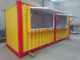 Título do anúncio: Lanchonete Container 6 mts