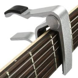 Capotraste Dolphin Aluminio P/ Violão Guitarra Ukulele Oferta - NOVO