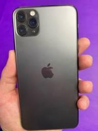 Título do anúncio: iPhone 11 Pro Max 64gb Preto - Seminovo