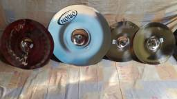 Kit de pratos de bateria musical LIGA B20 ORION