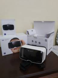 Óculos virtual 3D 360 graus 'Vr one pus'