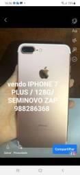 Título do anúncio: VENDO IPHONE 7 plus / Novo vitrine / RS 2159,00 A VISTA OU RS 2.260,00 PARCELADO NO CARTÃO