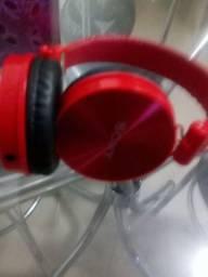 Fone de ouvido e cabo tipo C