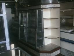 Título do anúncio: geladeira para frios e lacticínios - com porta vidro de correr e cantoneira na ponta