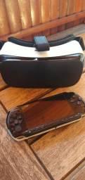 PSP e Óculos 3 D Virtual LER DESCRIÇÃO !!