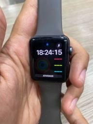 Título do anúncio: Apple Watch Série 3 42mm GPS + Cell (Aceito Cartão)