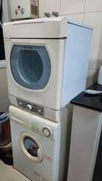 Título do anúncio: Máquina de lavar Electrolux e secar Brastemp