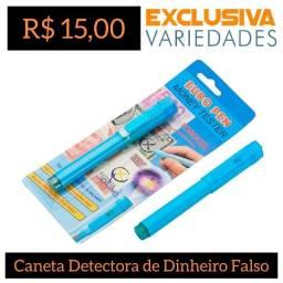 Caneta Detector de Dinheiro Falso