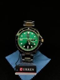 Título do anúncio: Curren Homens Relógio De Quartzo Pulseira De Aço Inoxidável