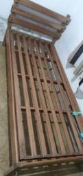 Título do anúncio: Cama de madeira