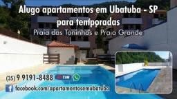 Alugo apartamento em ubatuba para temporada