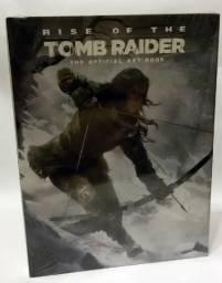 Tomb Raider livro - Rise of the Tomb Raider ArtBook - N0VO