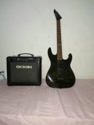 Vendo guitarra e cubo