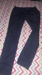 Calça jeans azul escuro Tam. 40