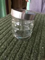 Pote de vidro