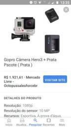 Gopro Câmera Hero 3 - 3 meses de uso