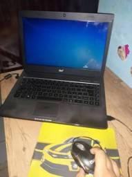 Notebook i3 6gb 320gb hd