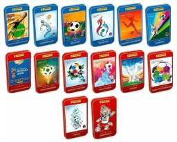 Coleção de latinhas da Copa 2018