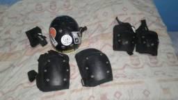 Kit de proteção skate/bicicleta jumppings