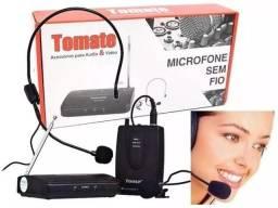 Conjunto de Microfone Sem Fio Auricular Headset / Lapela para conferencias e palestras